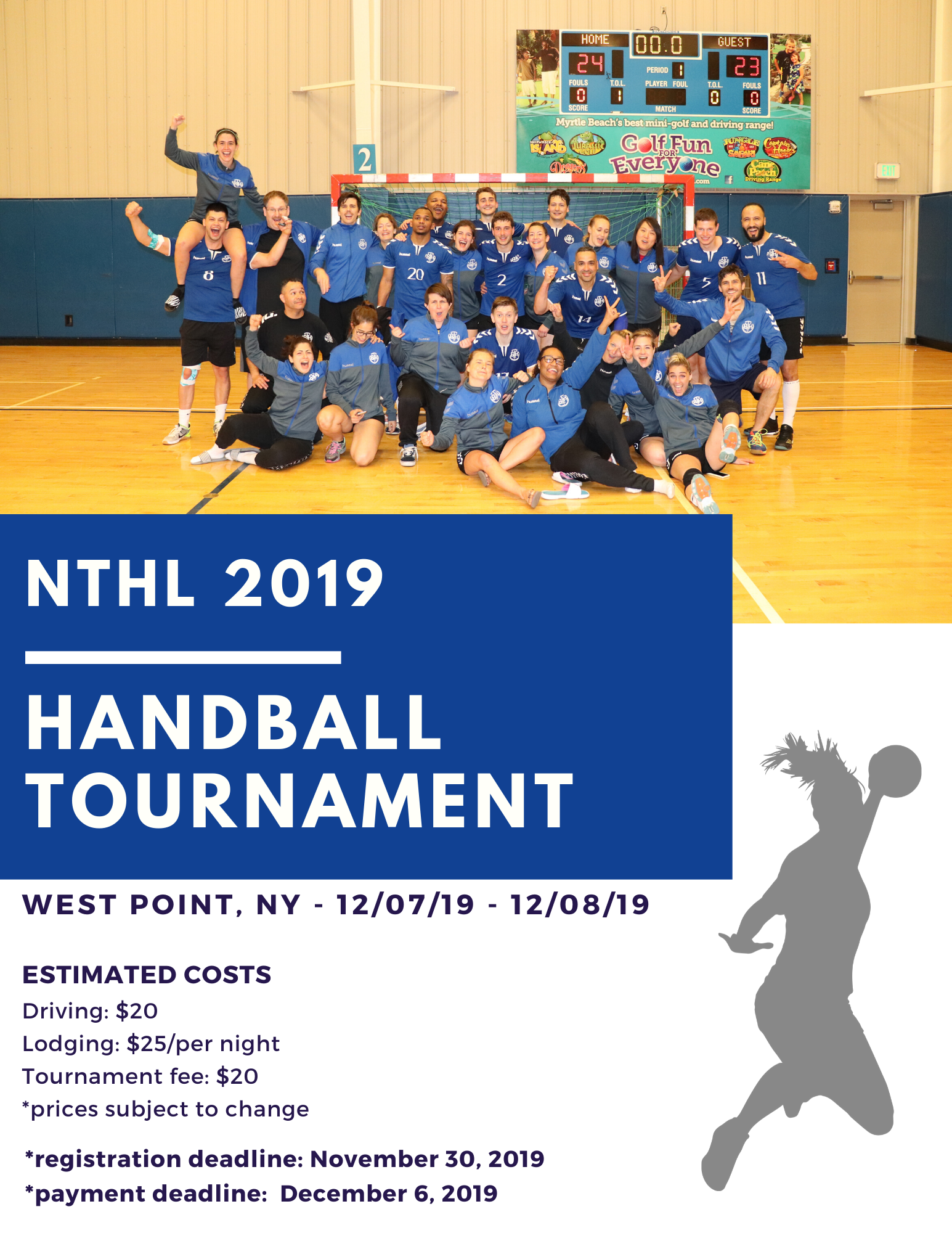 Copy of handball tournament